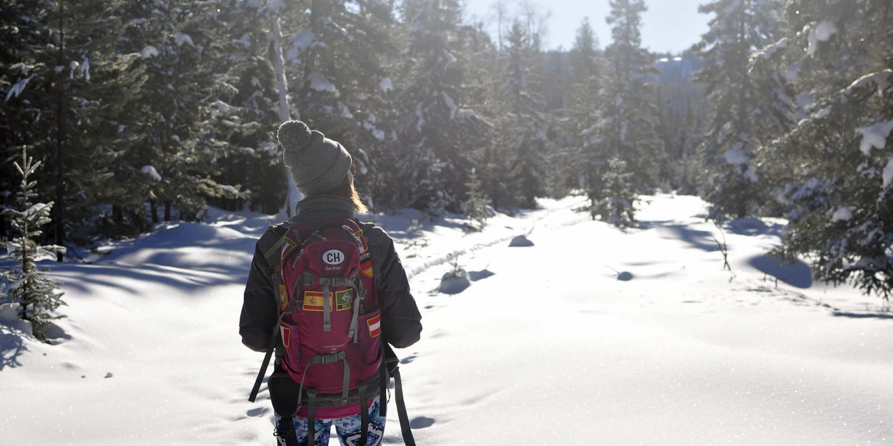 Bush Lake Super South Loop Snowshoe