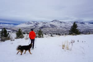 Grasslands Loop Snowshoe