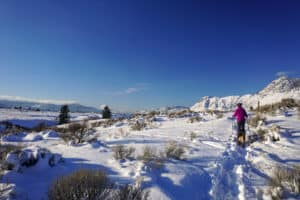 Where to Snowshoe in Kamloops?